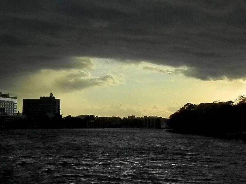 Небо над Малой Невкой