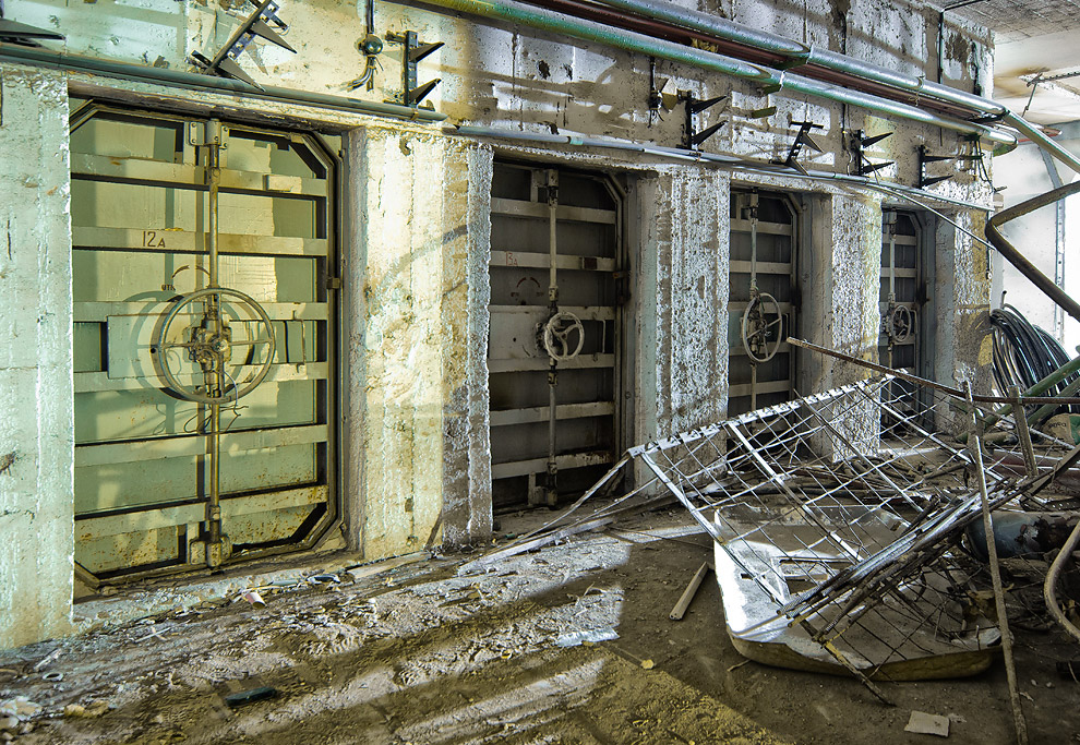 8. Продолжаем изучение бомбоубежища в московской области.