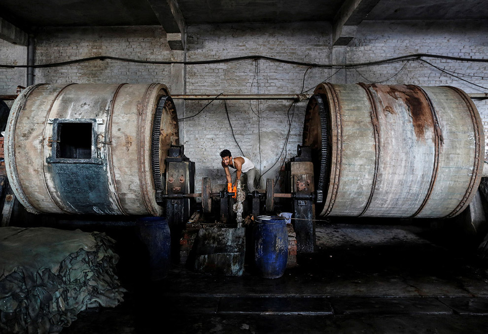 9. Сырье кожевенного производства. (Фото Danish Siddiqui | Reuters):