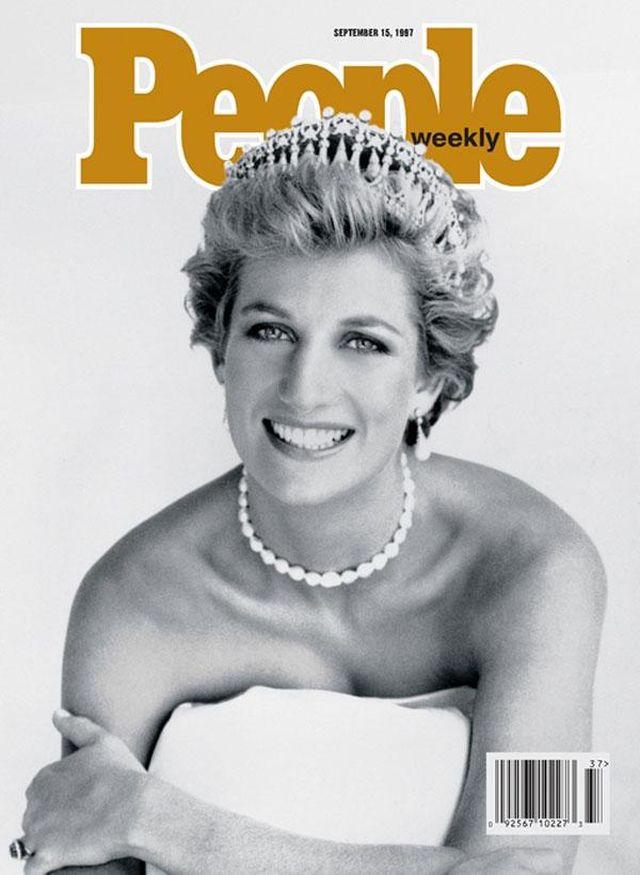 11. Принцесса Диана появлялась чаще других на обложке журнала People   За всю свою жизнь, и даж