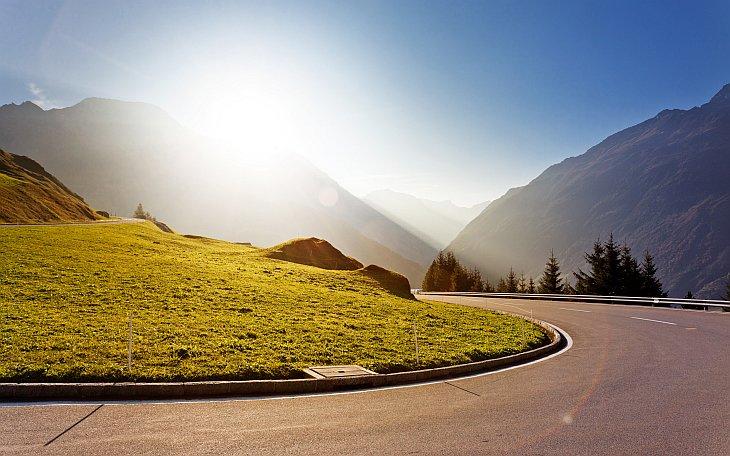 Перевал Оберальп в Швейцарии (26 фото)