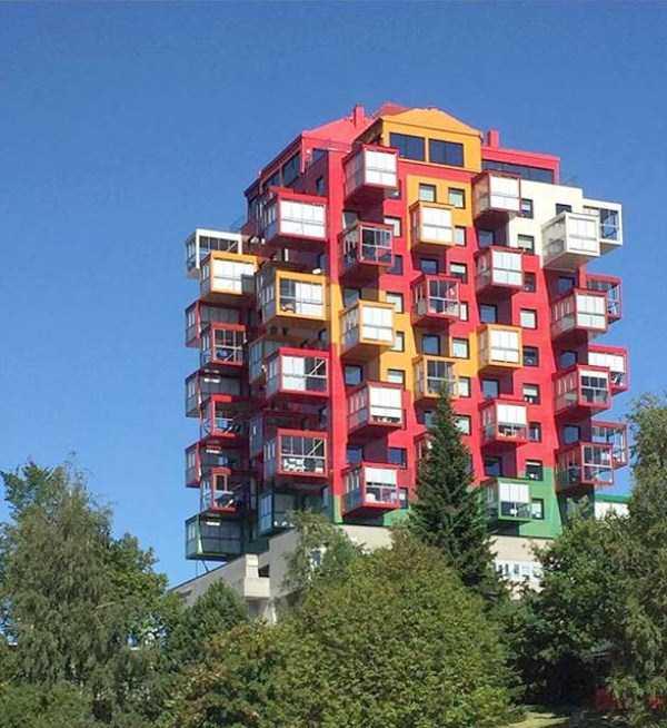 Странная архитектура