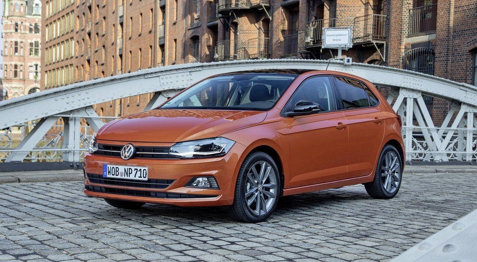 На фото: хэтчбек VW Polo нового поколения, версия для Европы