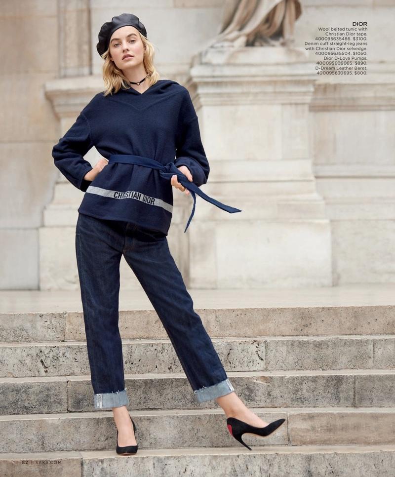 Маартье Верхуф в каталоге Saks Fifth Avenue (6 фото)