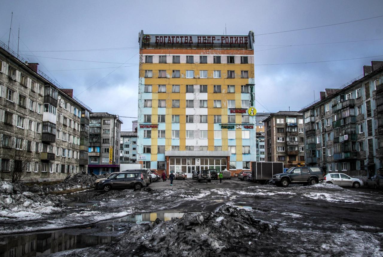 Тоскливая эстетика городских окраин