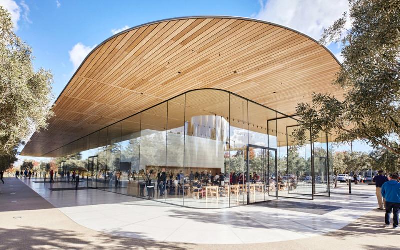 Почему сотрудники новой штаб-квартиры Apple разбивают лбы на работе (3 фото)