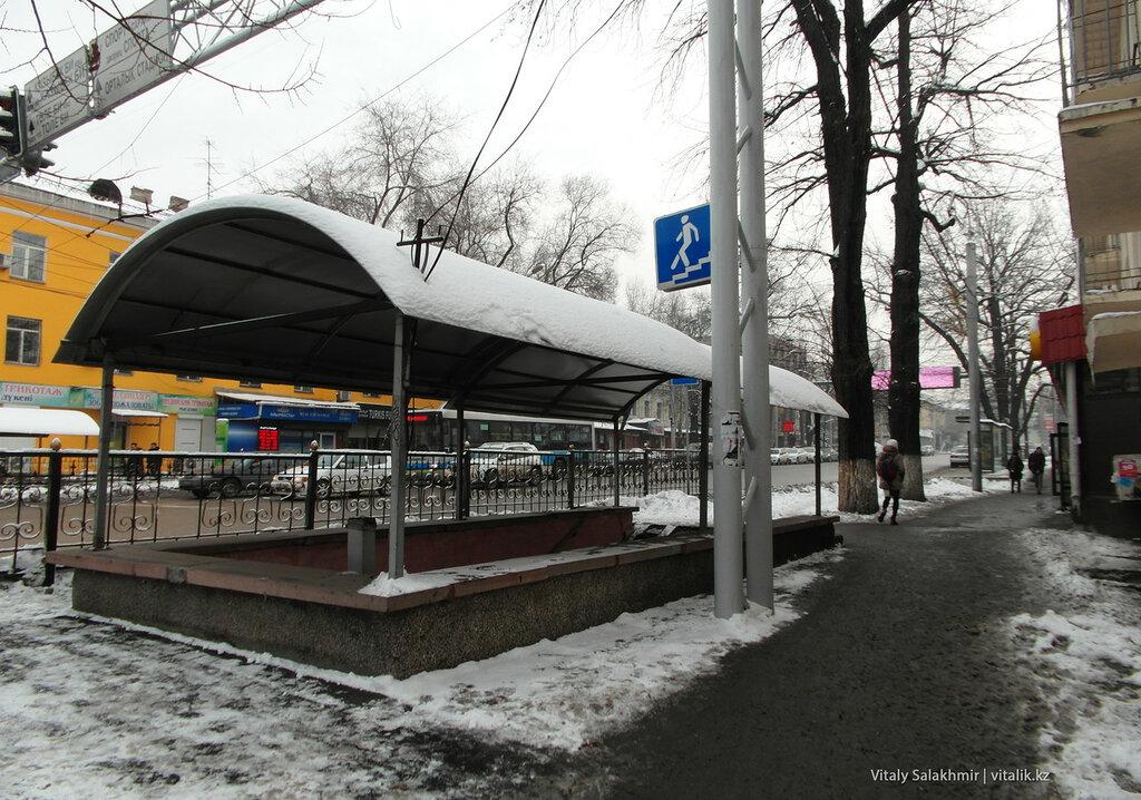 Подземный переход Гоголя-Сейфуллина.