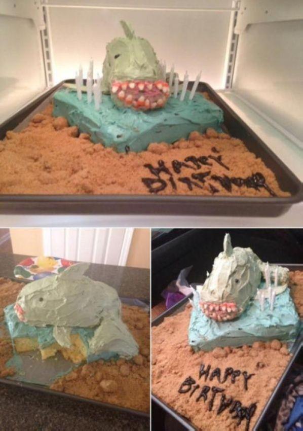 Беспощадные тортики для детей