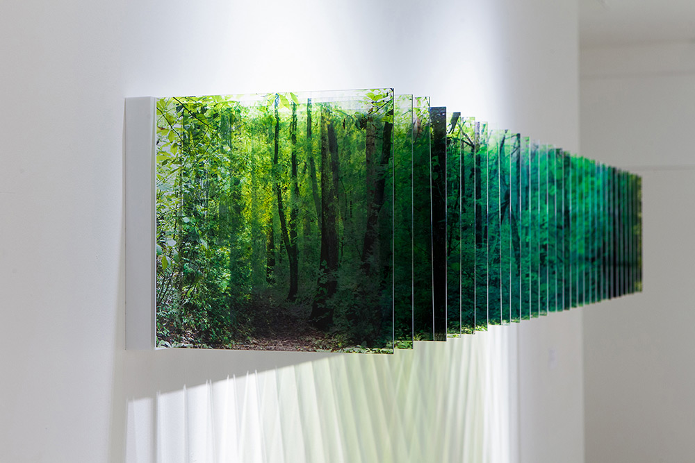 Three-Dimensional Landscapes Formed with Layered Acrylic Photographs by Nobuhiro Nakanishi (8 pics)