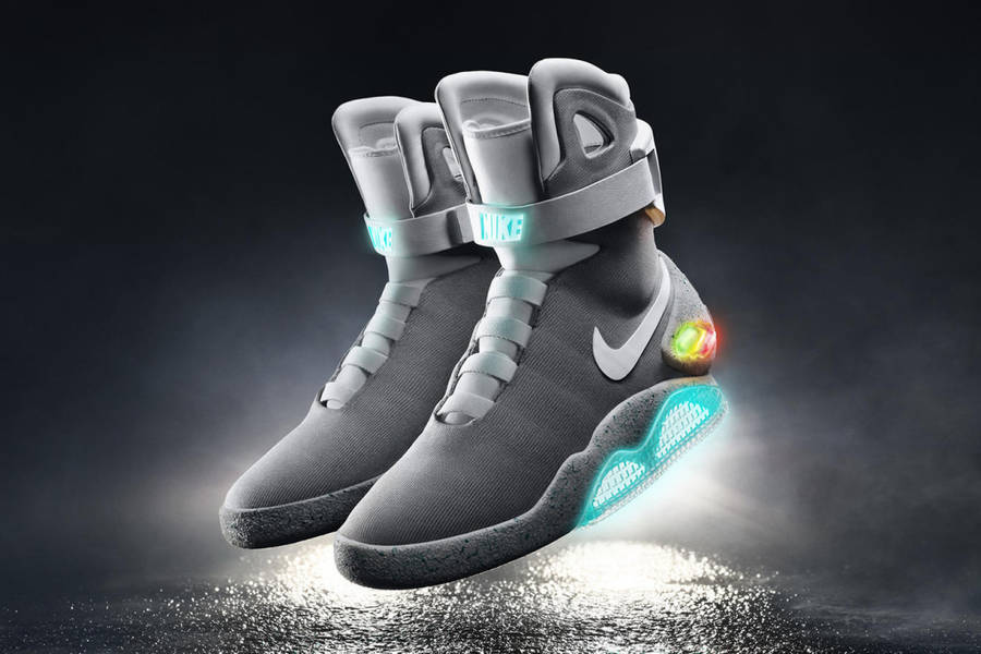 Iconic Back to the Future Nike Air Mag