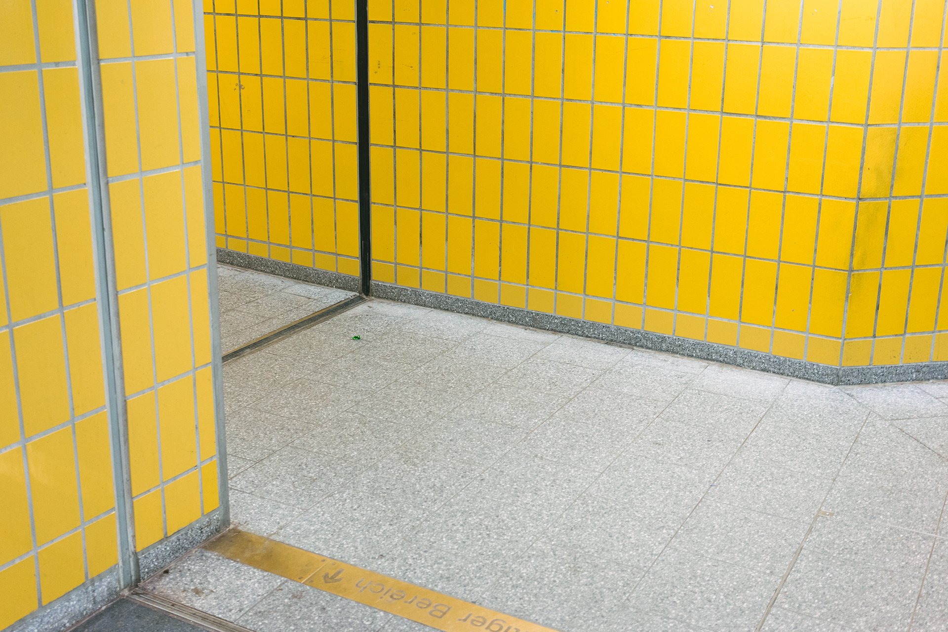 Minimalist Pictures of a Metro Station in Hamburg