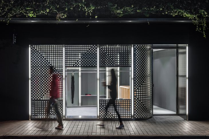 Linehouse  was commissioned to design the second store for streetwear retailer ALL S