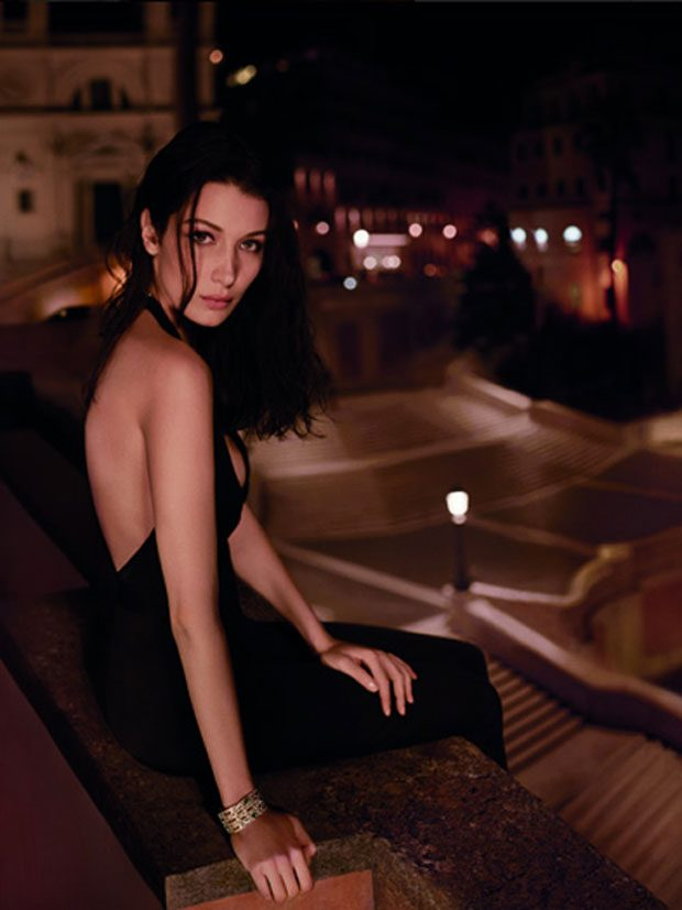 Bella Hadid Becomes The Face of BVLGARI Goldea The Roman Night