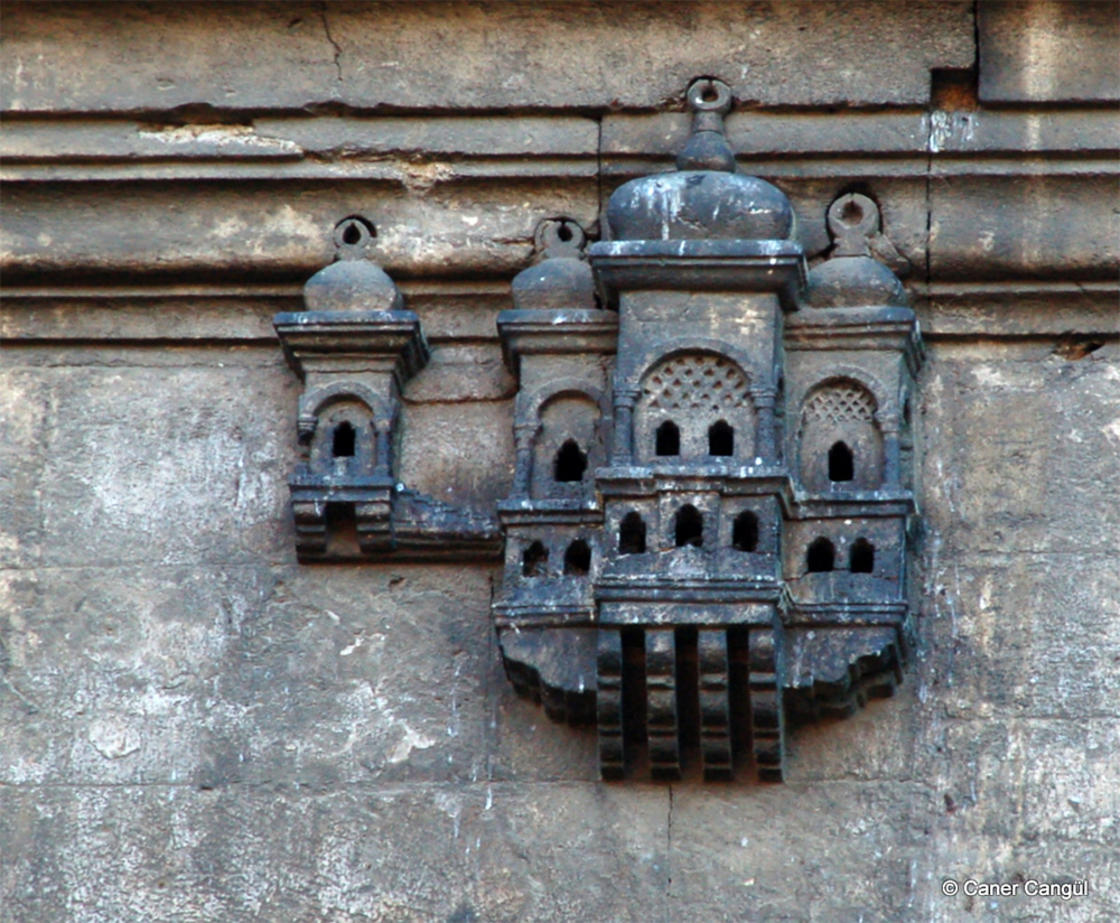 In Istanbul, the birdhouses look like amazing palaces