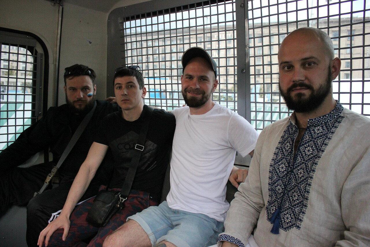 Задержание Романа Ковалева
