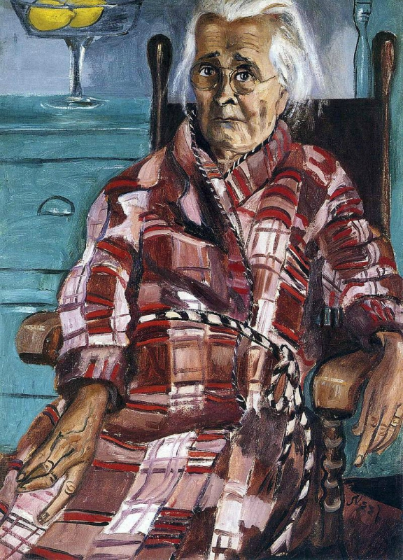 Alice  Neel.  Old  Lady.