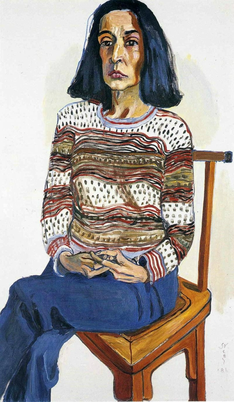 Alice Neel.  Женский  портрет