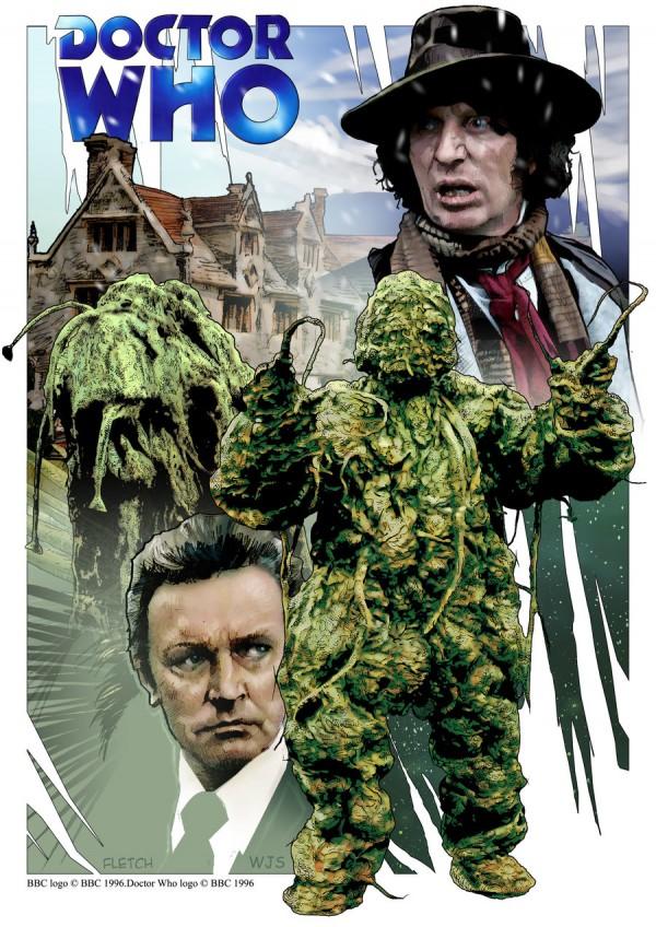 Dr Who Illustrations - Jason Fletcher