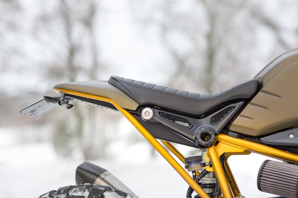 Unique Custom Cycles: скрэмблер BMW R nineT Urban G/S