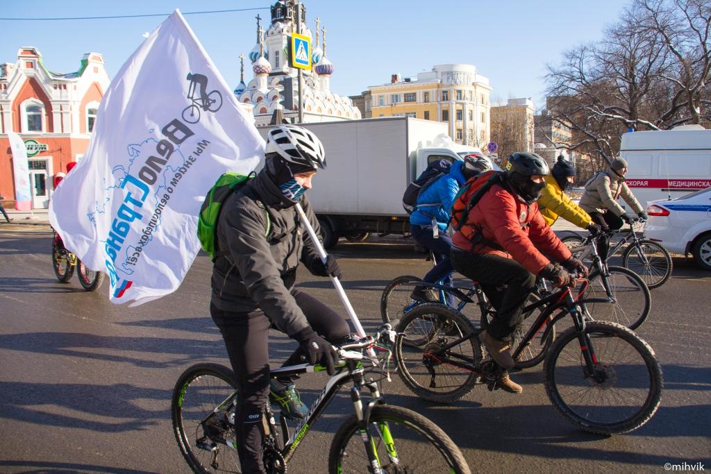 Первый Зимний Велопарад