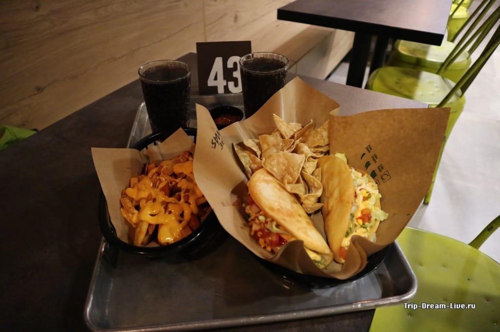 Наш заказ в Taco Bell