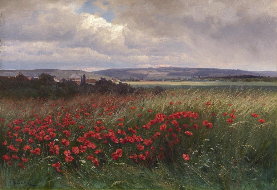 Poppies , 1909.