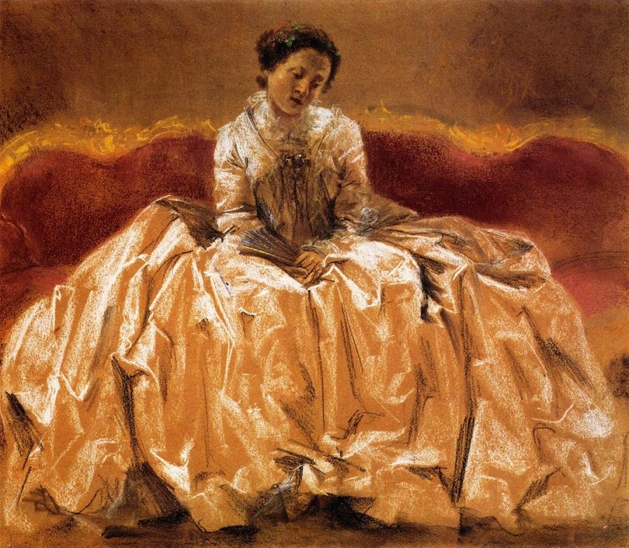 Model Study for Wilhelmine von Bayreuth