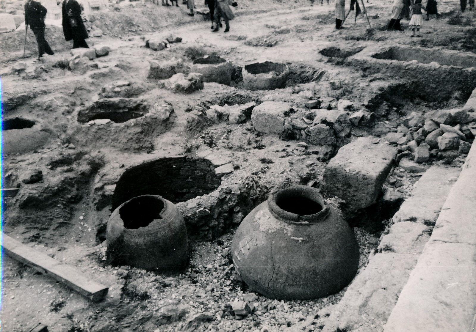 1935. Афины. Храм Гефеста