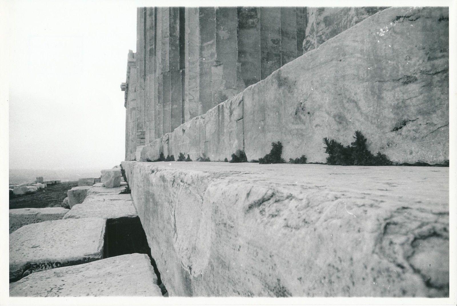 1950. Афины. Акрополь