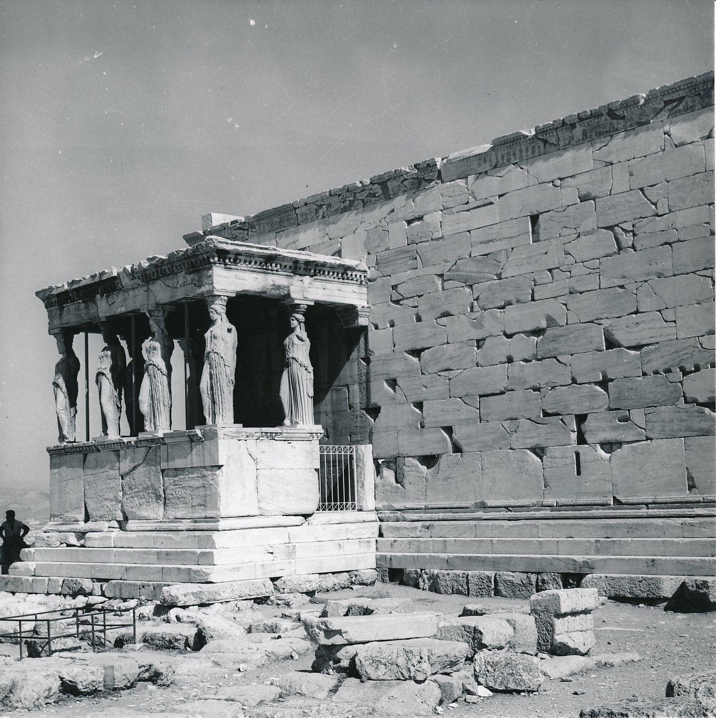 1960. Афины. Храм Эрехтейон