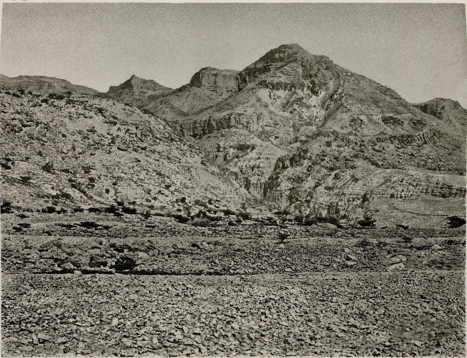 28. Берег Мертвого моря. Вади-Цдер