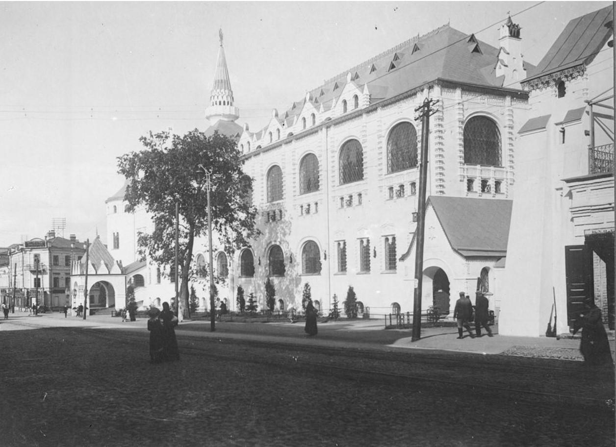Большая Покровская улица. Здание Государственного банка
