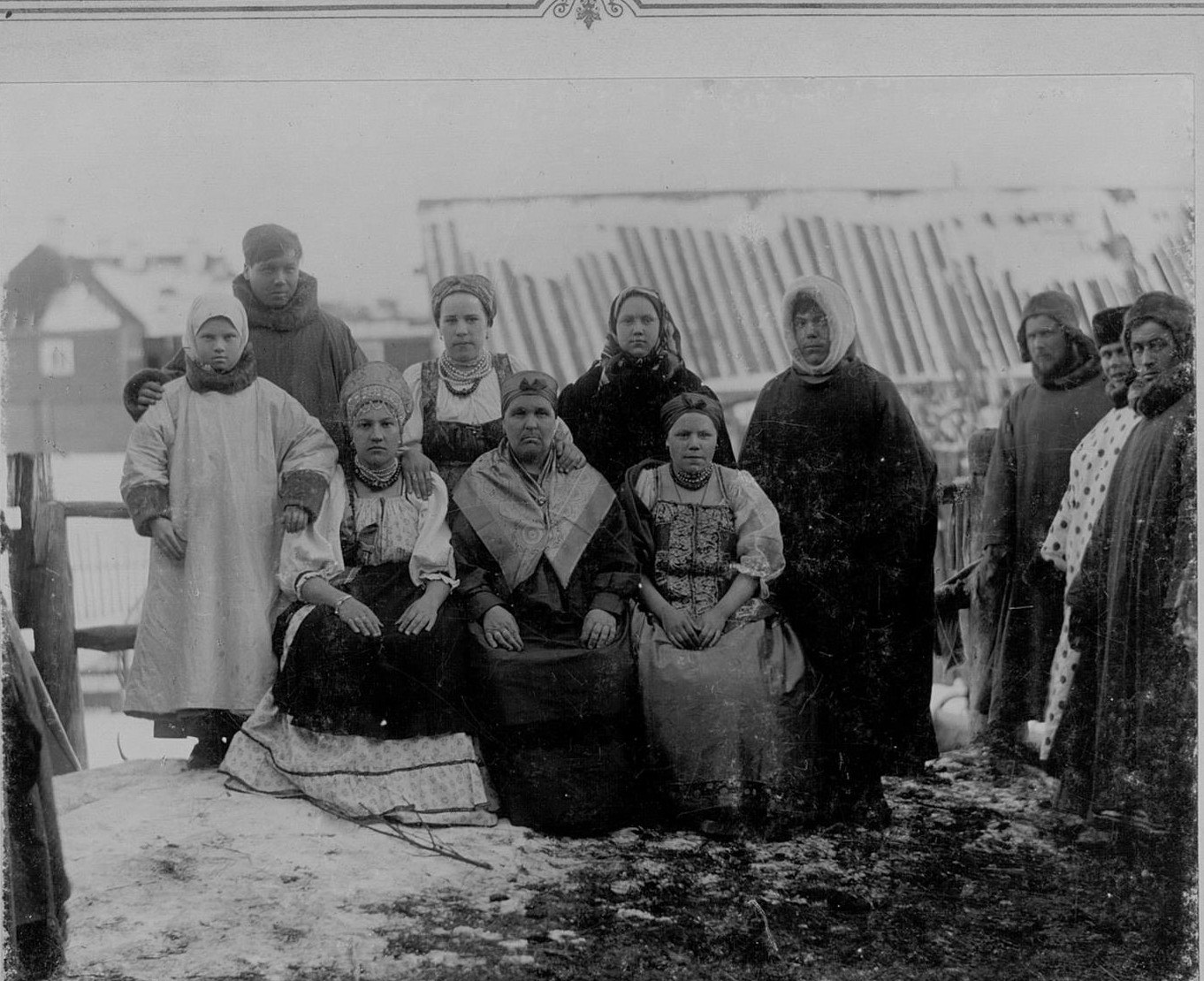 Мезенские крестьяне