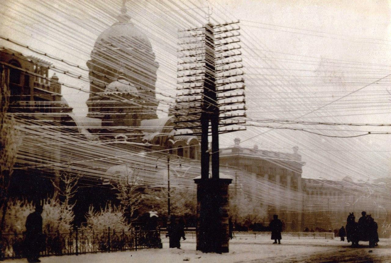 Вид на Николаевский собор