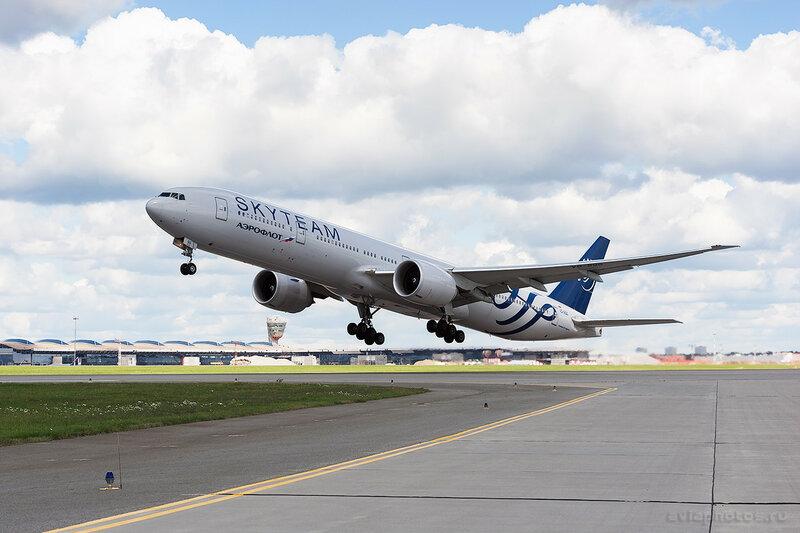 Boeing 777-3M0/ER (VQ-BQG) Аэрофлот 0376_D703483