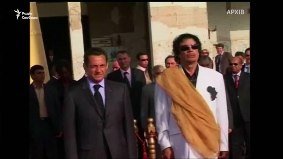 За что задержан Николя Саркози (видео)