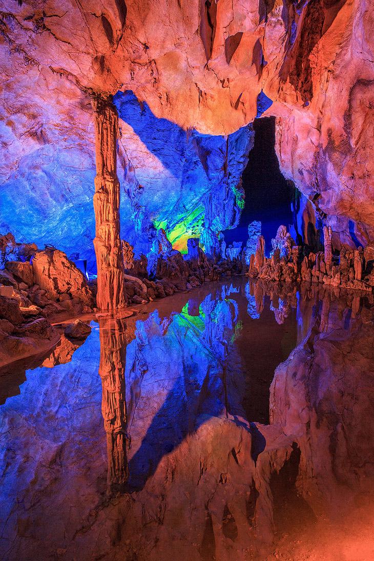 На протяжении 1 200 лет пещера является достопримечательностью округа Гуйлинь в Китае.