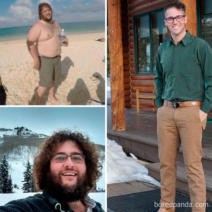 Минус 61 килограмм за два года.