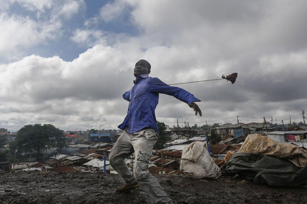 19. Борьба за власть по-кенийски, октябрь 2017. (Фото Goran Tomasevic):