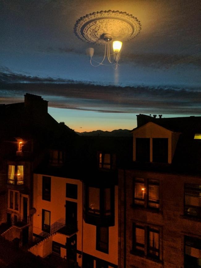 © robyncracknell3/ reddit      «Фотографировал фейерверки, аполучилась туманность