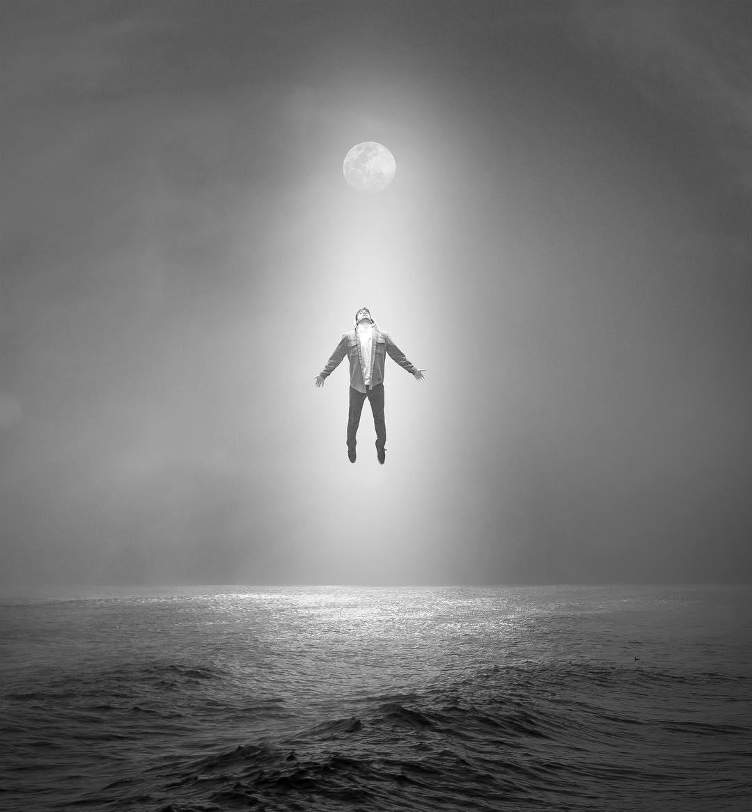 Заставки для телефона: сюрреалистические фотоманипуляции от Tim El-Helou