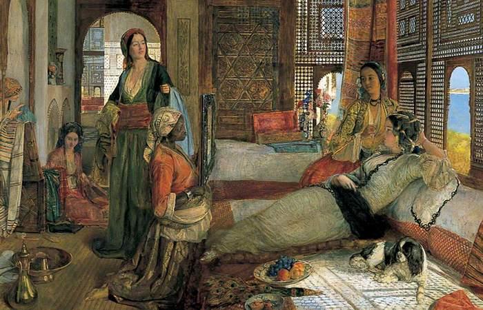 Будни рабынь   Счастливицы, которых султан предположительно подумывал взять себ