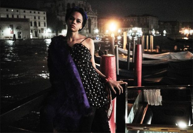 A Peak Inside of WSJ. September Issue Shot in Venice by Mario Sorrenti