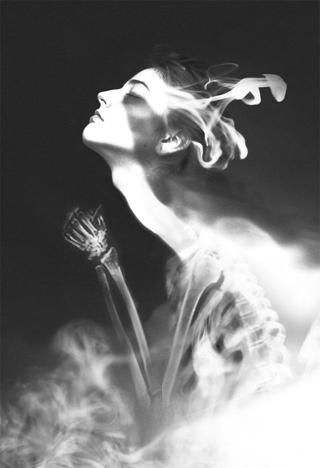 Dreamy Black and White Photo Manipulations by Silvia Grav