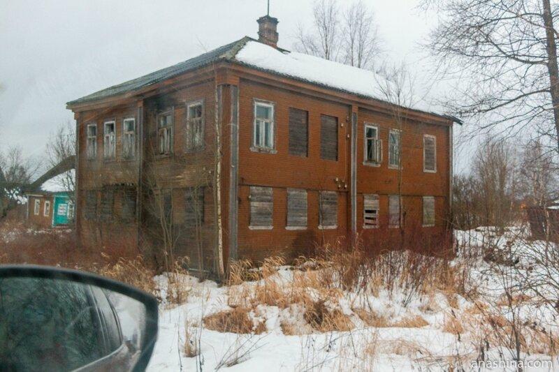 Старый дом, Андомский погост, Вологодская область