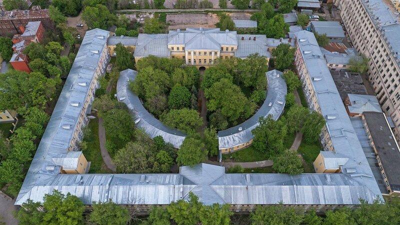 Дворец Лефорта-Меншикова. Российский Государственный Военно-Исторический Архив.