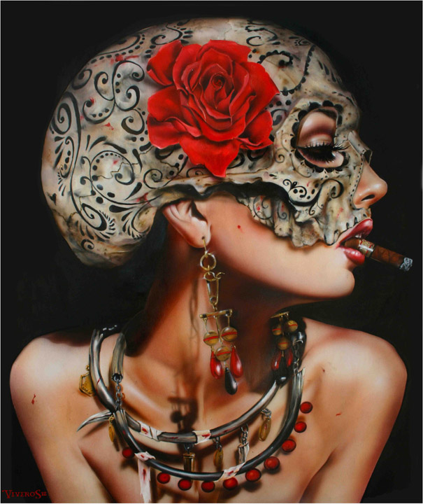 Hyper-Real Paintings by Brian M Viveros