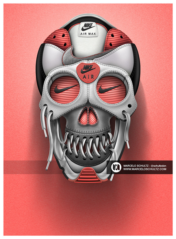 Amazing Commercial Illustrations by Marcelo Schultz