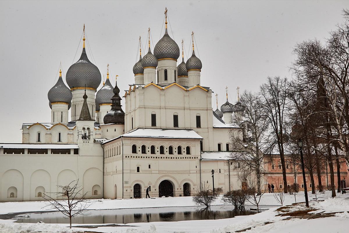 Золотое кольцо - Ростовский кремль