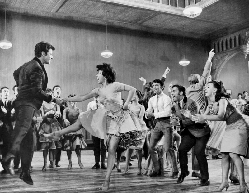 george chakiris & rita moreno - west side story 1961